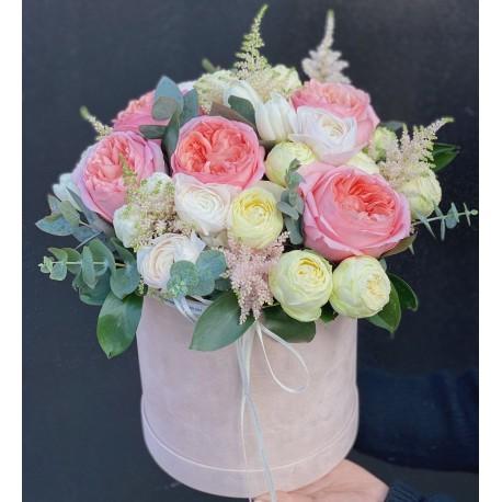 Коробка цветов Перфект