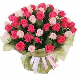 """Букет""""Розовые розы"""""""