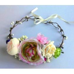 Ободки венки с цветами