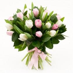 "Букет ""Розовые тюльпаны"""