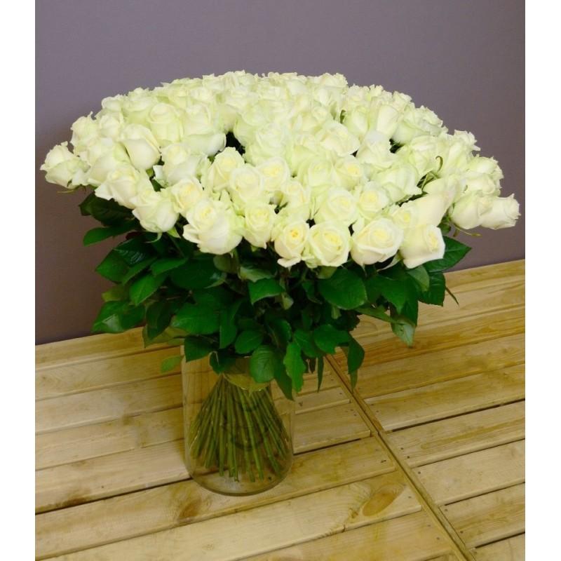 Букет белых роз днепропетровская, букеты